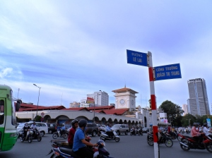 Ben Thanh Market .