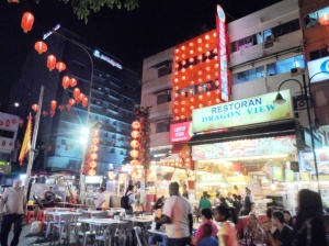 The lively Jalan Alor