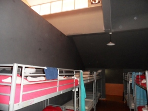 Photo of Inncrowd Backpackers where we stayed for 20 SGD /night with light breakfast. It looks better in actual. hehe