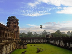 Angkor Wat , Minutes after Sunrise