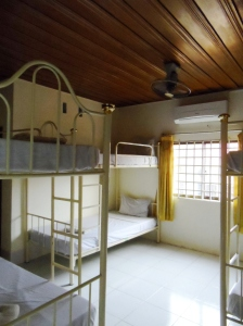 Angkor Thom Guest House near Wat Bo. 5 USD/night http://www.angkorthomguesthouse.com/