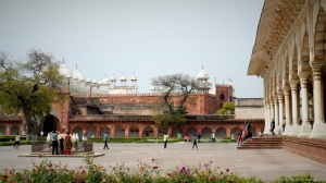 Charming Palace corners of Agra Fort