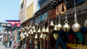 Chimes and Bells are usual sight on streets of nepal