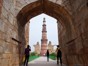 Highest standing minaret in India ,at New Delhi