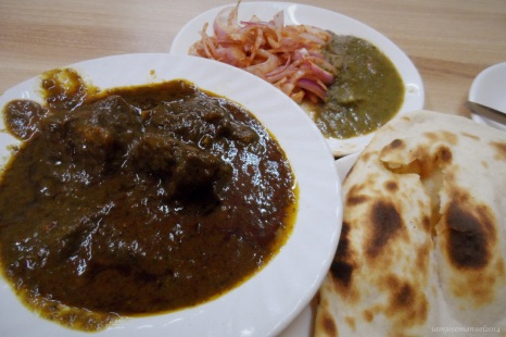Curried Lamb Stew from Baphe da hotel , as featured by Migrationology.com . I had time looking for this in Connaught place, New Delhi . But indeed it was worth the task ! this dish is unforgettably delicious !