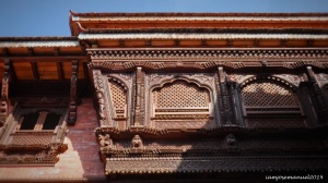 Intricate Details . Nepal is known for its skilled wood carvers ,even way back the ancient times.