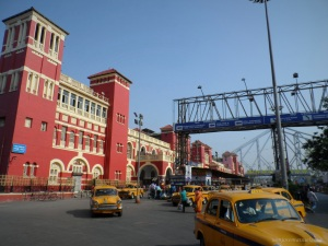 The Famous Hawrah Train Station in Kolkatta