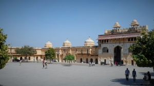 Amber Fort Courtyard in Jaipur
