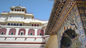 a view of the city palace , Jaipur