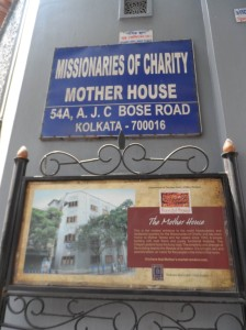 Mother Teresa's house where her tomb is also sheltered.
