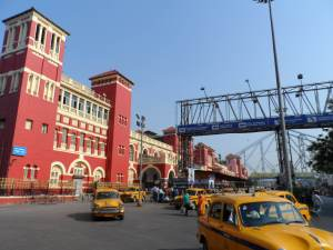 The Iconic Howrah Train Station