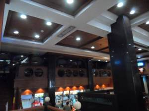 This is what Mcdonalds restaurant in Kolkata  look like