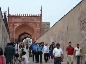 Entrance way to the Fort