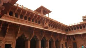 Details of the Red Fort Palace