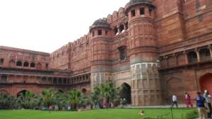 Red Fort Agra. another stunning Architectural landmark of Agra, Uttar Pradesh State, India
