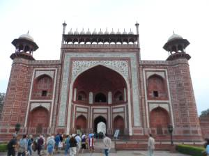 Entrance Gate to Taj Mahal Complex