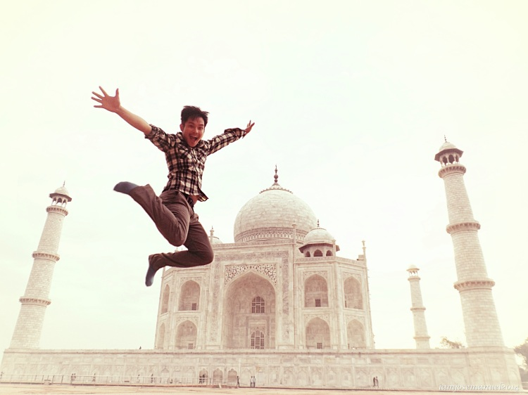 Agra,2014. 2nd backpacking