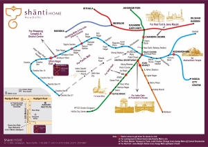 Delhi Metro Train Map