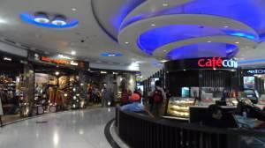Delhi Intl Airport Departure Lounge