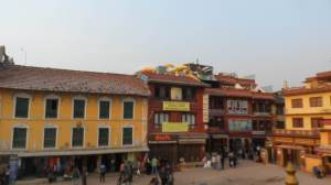Commercial Establishments at downtown Kathmandu