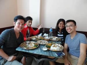 fellow backpackers I met in Kathmandu