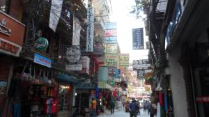 A view of Thamel
