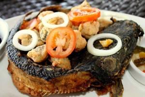 Sample Dish. Deep Fried Catfish