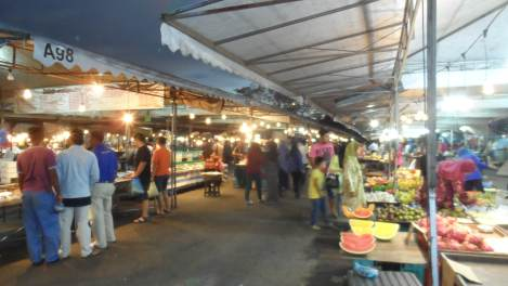 Night Market in Gadong