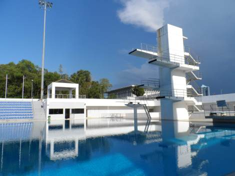 Olympic standard Diving Pool, for only B$ 1.