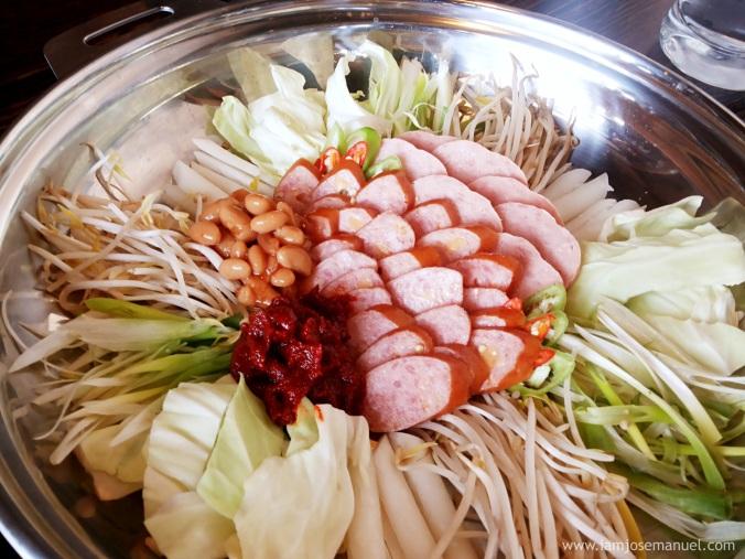 bulgogi brothers ham and sausage shabu shabu