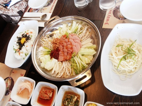 The recently launched Three way Shabu Shabu Set