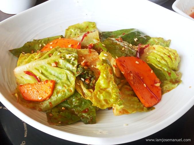 bulgogi brothers vegetable salad