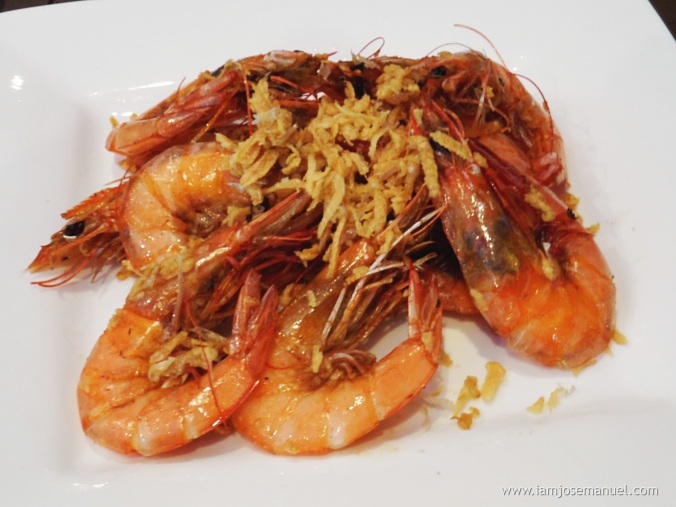 helens kitchen garlic shrimp