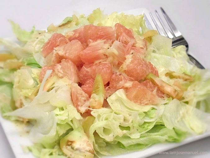trellis n vines pomelo salad