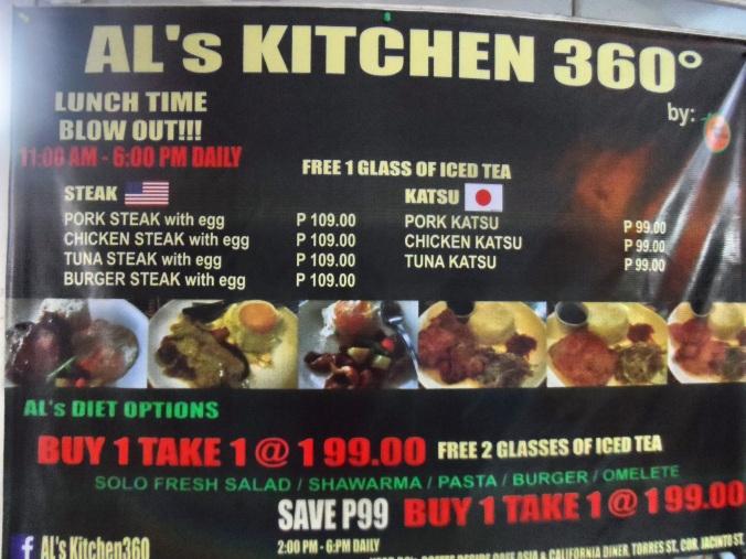 als kitchen 360 menu