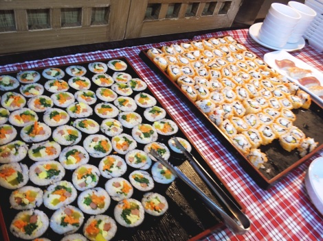 kimbap korean town