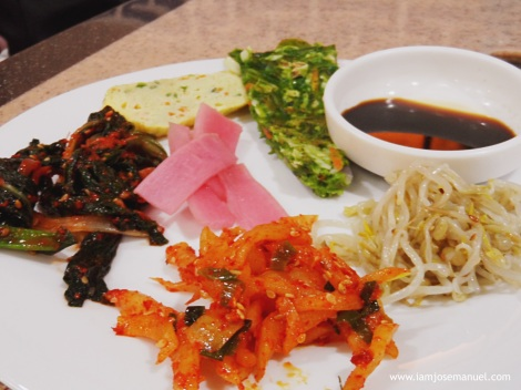 korean town side dishes
