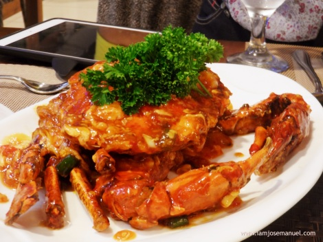 cafe tavera singaporean crab