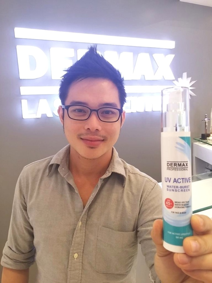 A Travel Essential : Dermax Professional UV Active Sunscreen Photo by Mr. Ian Garcia of M Magazine