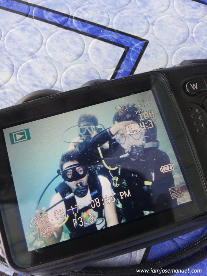 First time Scuba Divers. More of this diving experience on my near future posts.