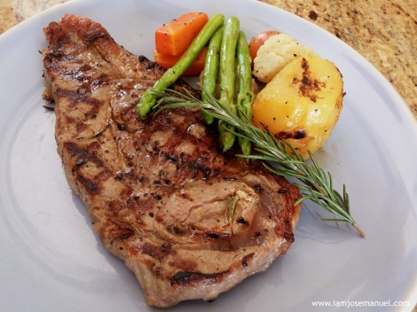 Marco Polo Davao's Sirloin Steak, consistently tender and flavourful.