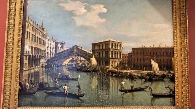 A View of Venice during the ancient times
