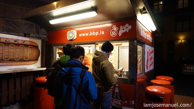 Baejarins Beztu Pylsur is the famous hotdog stand. it's where famous international people had their bite, like Bill Clinton