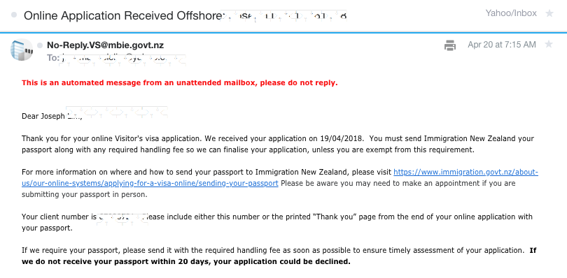 New Zealand Tourist Visa For Filipinos 2018 Diy Online Application