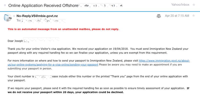 New Zealand Tourist Visa for Filipinos 2018 – DIY Online